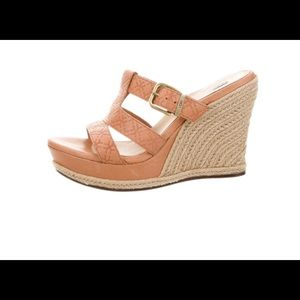 Ugg wedge sandal. Size 8.